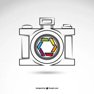 Photography Logo Free Vector