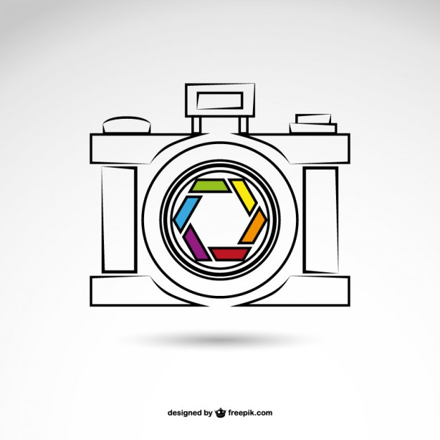 Photography Logo Free Vector