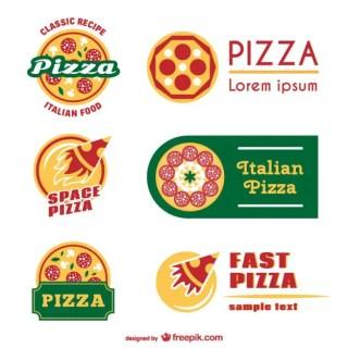 Pizza Logo Templates Free Vector