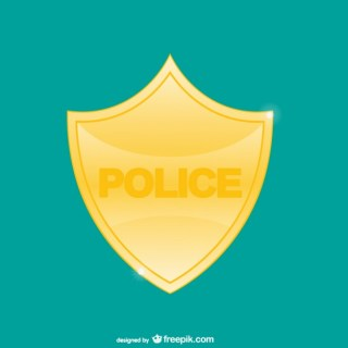 Police Badge Free Vector