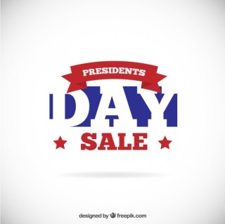 Presidents Day Sale Free Vector