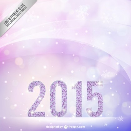 Purple 2015 Background Free Vector