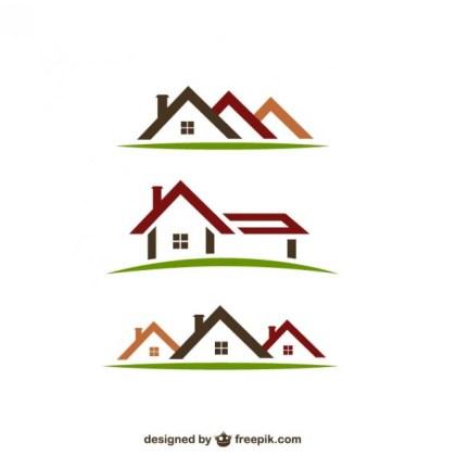 Real Estate Logos Free Vector