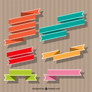 Ribbon Banner Free Vector