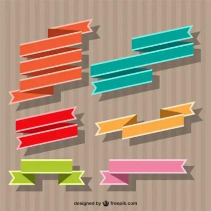 Ribbon Banner Free Vector