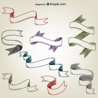 Ribbons Graphics Free Vector