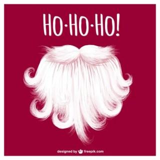 Santa Claus Beard Free Vector
