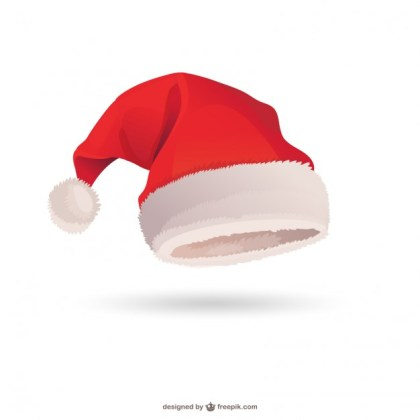 Santa Claus Hat Free Vector