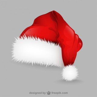 Santa Claus Hat Illustration Free Vector