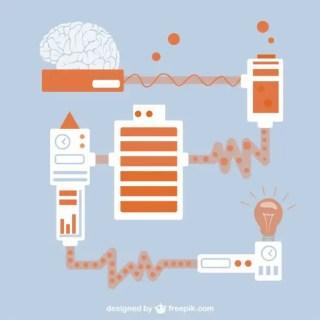 Science Creative Idea Free Vector