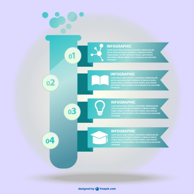 Science Infographic Free Vector