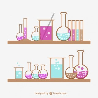 Science Tubes Collection Free Vector