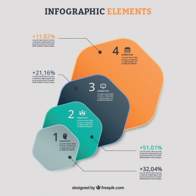 Seo Infographic Elements Free Vector