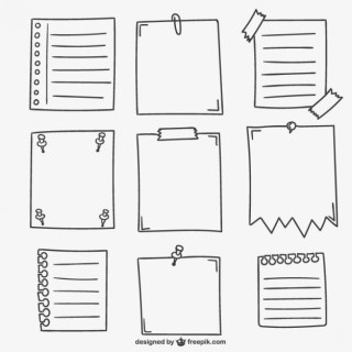 Sheets of Paper Free Vector
