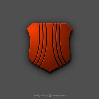 Shield Logo Free Vector