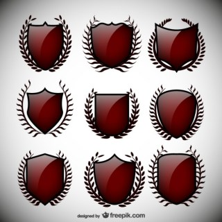 Shields Pack Free Vector