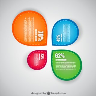 Shopping Infographic Design Free Vector