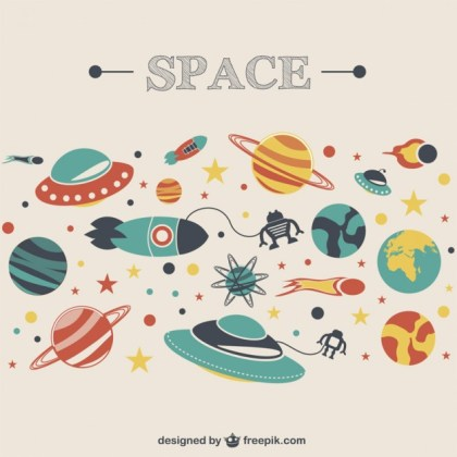 Space Cosmos Image Free Vector