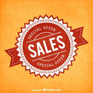Special Offer Stamp Free Vector