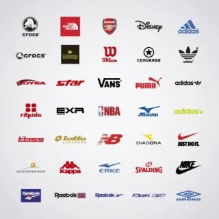 Sports Brand Logo Free Vector