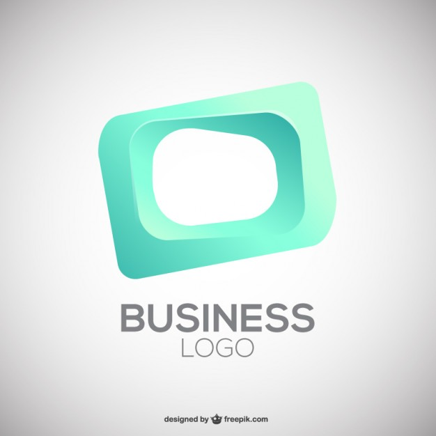 Square Business Logo Free Vector