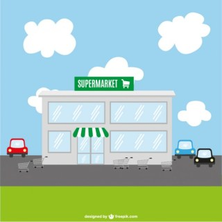 Supermarket Art Free Vector
