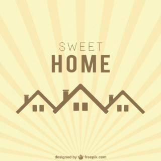 Sweet Home Logo Free Vector