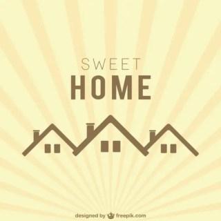 Sweet Home Logo Free Vector