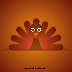 Thanksgiving Day Turkey Free Vector