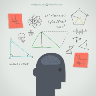 Thinking Mind Illustration Free Vector