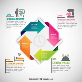 Time Infographic Free Vector