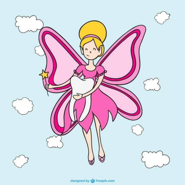 Tooth Fairy Free Vector