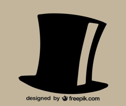 Top Hat Icon Free Vector