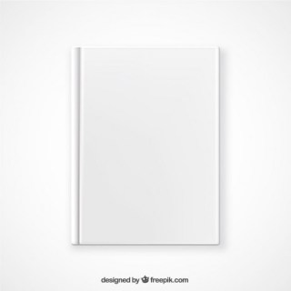 Top View Book Mockup Free Vector