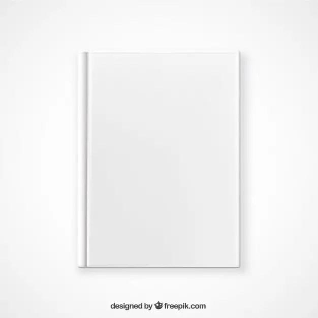 Top View Book Mockup Free Vector