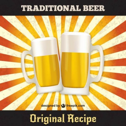 Traditional Beer Free Vector