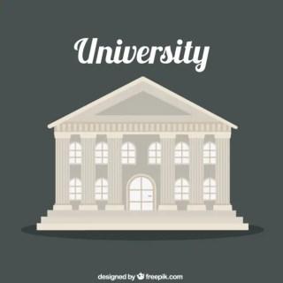 University Building Free Vector