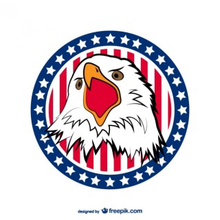 Usa Eagle Free Vector
