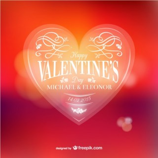 Valentines Day Celebration Free Vector
