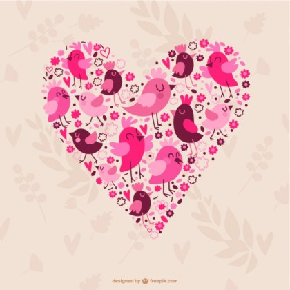 Valentines Heart Free Vector