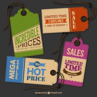 Vintage Hang Tags for Download Free Vector