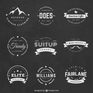 Vintage Labels Free Vector