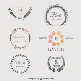 Vintage Logo Templates Pack Free Vector