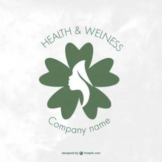 Wellness and Health Spa Logo Free Vector