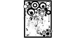 Grunge Circles Free Vector