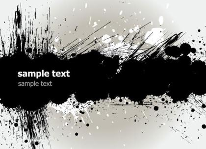 Grunge Text Banner Download