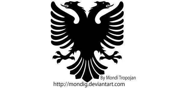Heraldic Eagle Vector Silhouettes