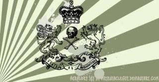 Skull Heraldry Png