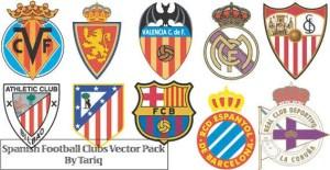 Spanish Football Club Logos