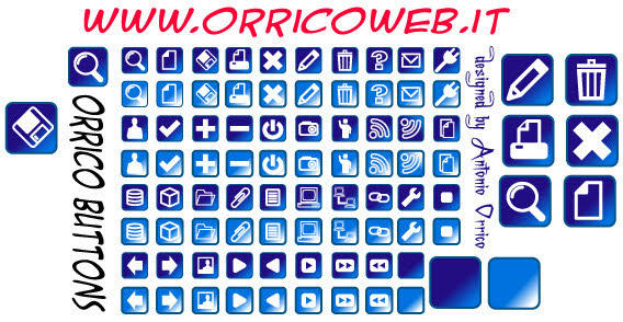 Web Buttons Free Vector